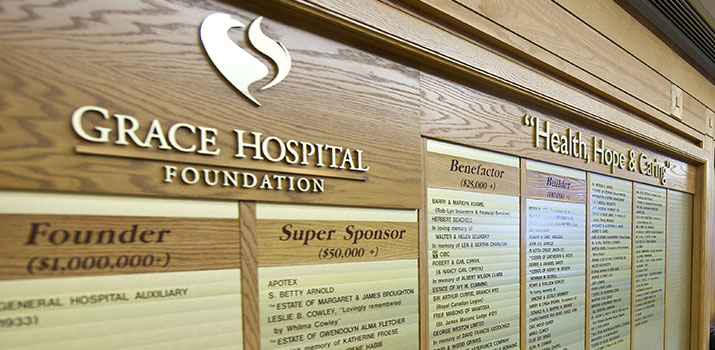 The Grace Hospital Foundation Donate Now Donor